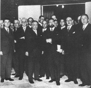 Inauguración del Instituto Nacional de Física y Química, 1932.