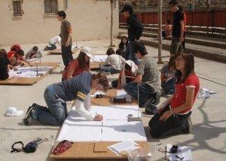 Desarrollo de la experiencia del 26 de marzo de 2009 en la Escola Sant Lluis Gonçaga de La Garriga (Barcelona)