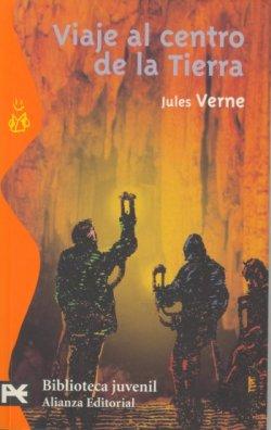 Portada de Viaje al centro de la Tierra de Julio Verne