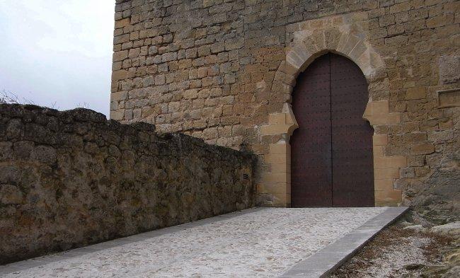 Arco de la torre de la Imagen reconstruido